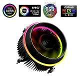 Aigo Shadow RGB Rainbow Dissipatore di Calore per CPU Intel Socket 1150 1151...