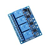 ELEGOO Relay Module 4 Channel DC 5V with Optocoupler for...