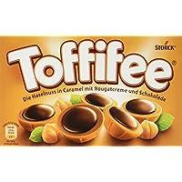 Toffifee – In Toffifee steckt, was allen schmeckt: eine knackige Haselnuss in einer leckeren Karamell-Schale, zarte Nougatcreme und ein Klecks kräftige Schokolade – Toffifee 15er, 15 Pack (15 x 125 g)