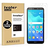iVoler [Lot de 2] Verre Trempé pour Huawei Honor 7S / Huawei Y5 2018 / Huawei Y5 Prime 2018 [Garantie à Vie], Film Protection en Verre trempé écran Protecteur - Transparent