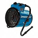 Silverline 300316 Chauffage électrique Soufflant d'atelier 2 Kw, 2 V, Blue
