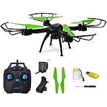 GEEDIAR® RC Drone 2.4Ghz 4CH 6-Eje JJRC H98WH con HD 0.3MP Cámara WiFi FPV Quadcopter