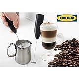 #8: IKEA Hand Blender Milk Frother Handheld Milk Wand Mixer Frother for Latte Coffee Hot Milk Whisker Latte Maker for Milk Coffee Egg Beater Juice