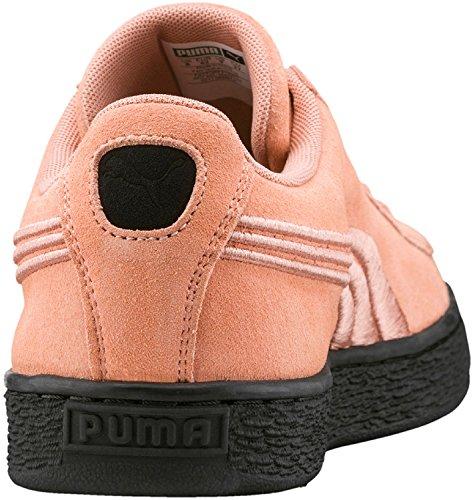Puma Unisex-Erwachsene Suede Classic Badge Flip Em Sneaker altrosa / schwarz