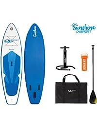 DevesSport Paddle Board Sunshine Blanco / Azul