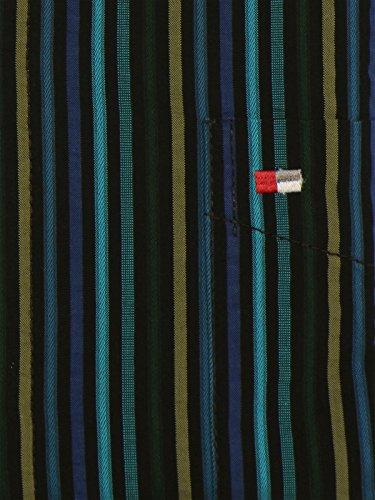 Jupiter Langarmhemd blau Blau/Streifen