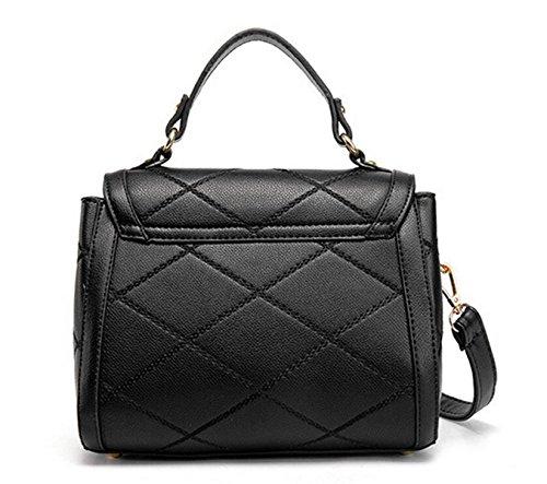 La Signora Borsa Borsa A Tracolla Messenger Bag Dolce Signora Pacchetto Black