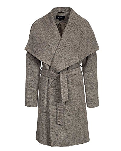 Vila Viacel Wolle Wintermantel Damen,dust camel,38
