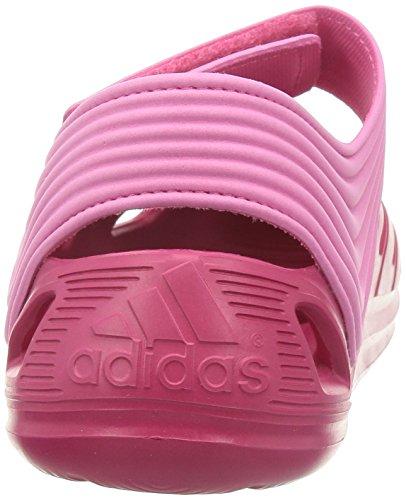 Adidas Zsandal K CBLACK/FTWWHT/CBLACK Pinktöne