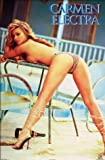 Celebrity Maxi Poster featuring the Gorgeous Carmen Electra - Table Dancer 61x91.5cm