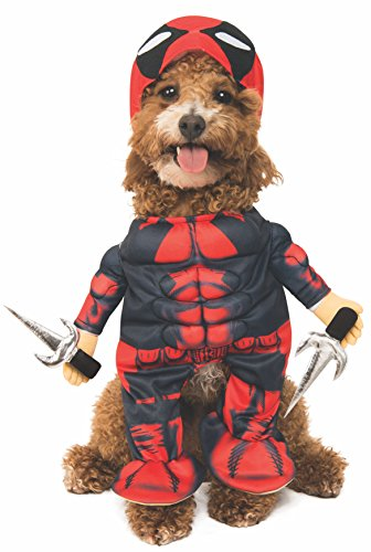 (Rubie 's Marvel Deadpool Pet Kostüm, Klein)
