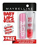 #8: Maybelline New York Baby Lips, Winter Flush, 4.4g and Baby Lips, Pink Lolita, 4g