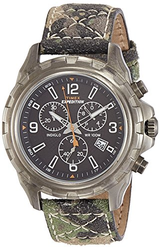 Timex Expedition Analog Black Dial Men's Watch - T49987 image