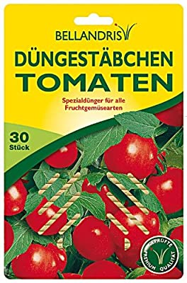 Bellandris Düngestäbchen für Tomaten 8+7+8 30 Stück von Bellandris - Du und dein Garten