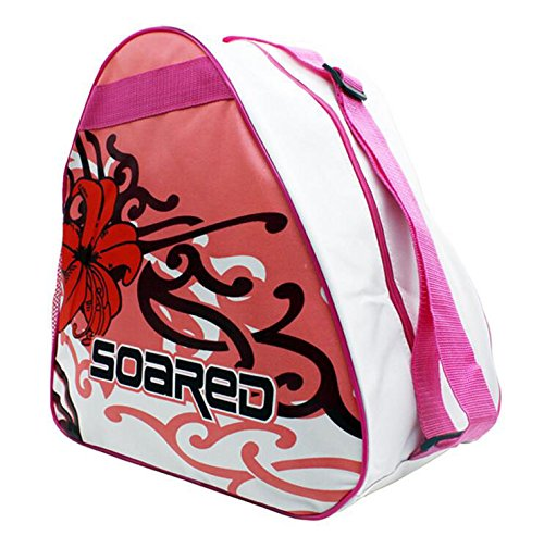 Gtopart Rollschuh-Tasche Kinder, Skater-Tasche 37 x 19 x38 cm (Rot)