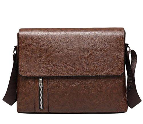 Messenger Bag I Viaggi D'affari Borsa A Tracolla Uomo Borsa A Tracolla Della Borsa Uomini Brown3