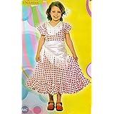 Disfraz Sevillana. Niña. Talla 2/4 años. Contiene: Vestido y pañuelo.