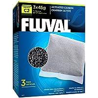 Fluval Esponja para la Filtración Mecánica con Carbón Activo para Filtro C2