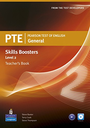 Pearson Test of English General Skills Booster 2 Teacher's Book and CDPack (Pearson Tests of English) por Terry Cook