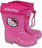 Hello Kitty Kinder Gummistiefel für Mädchen Teil-transparent rosa (32)