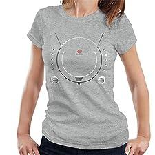 Cloud City 7 Sega Dreamcast Gaming Console Women's T-Shirt