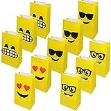 Emoji Sacs Cadeaux en Papier pour fêtes d'enfants 36 sachets...