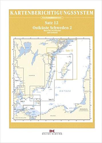 Sportbootkarten-Berichtigung Satz 12 (2019): Ostküste Schweden 2