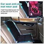 510tJXJk53L._SS150_ Autositzauflage Kindersitzunterlage, Nasharia Auto-Kindersitzunterlage wasserabweisend mit dicksten Polsterung zum Schutz vor Kindersitzen Isofix geeignet, Autositzschutz für Textil- und Ledersitze