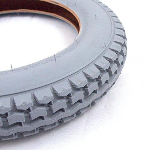 510tKkIJTYL - 121/2x 21/4resistente silla de ruedas neumático por Cheng Shin también se adapta eléctrica granate