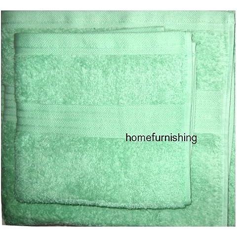 100% Natural Algodón Peinado Egipcio diseño de hoja de espuma para el baño