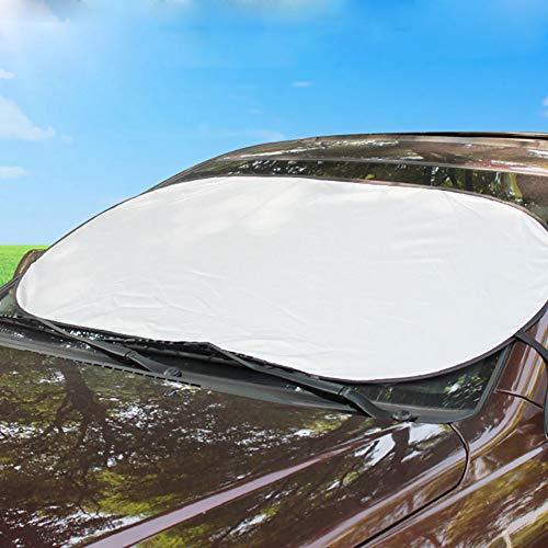 Auto-Fenstervorhang, UV-Schutz, Auto-Schnee, Eis, Sonnenschutz, UV-Schutz, staubdicht, Frontscheibenabdeckung -