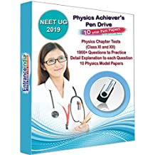 EntranceIndia NEET UG 2019 Achievers Physics with 10+1 Physics Model Papers (Pen Drive)