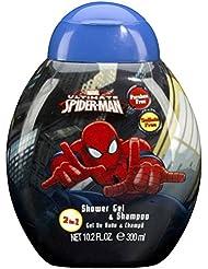 Spider-Man Cadeau Gel Douche + Shampooing 300 ml Marvel Amazing Spiderman
