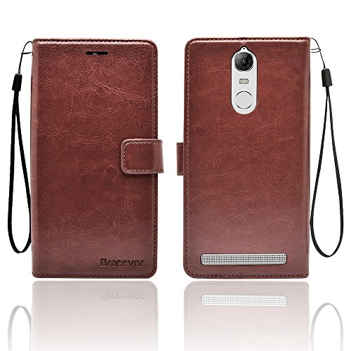 Bracevor Lenovo Vibe K5 Note Premium Leather Case *Inner TPU,...