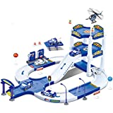 My First Racing Parking Garage Diecast Police City Station Playset