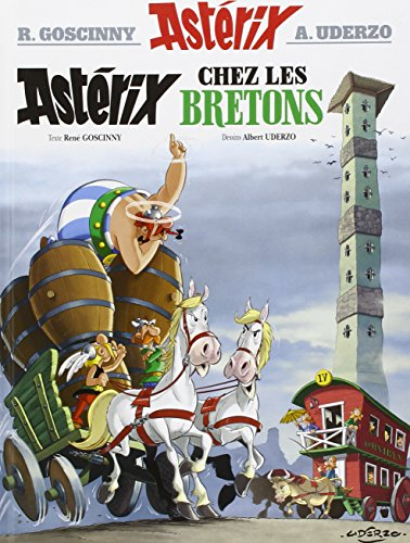 Asterix in French: Asterix chez les Bretons (edition 2012)