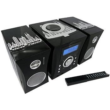 BigBen MCD04 AU302691 Micro Chaîne Hi-Fi USB New York