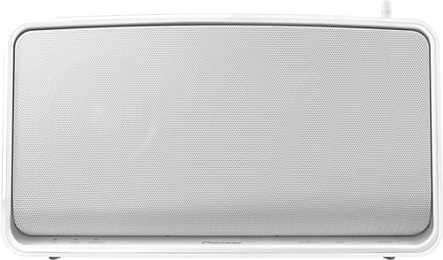 Pioneer XW-SMA1-W Wireless Streaming-Speaker (Indoor-Multi-Room Lautsprecher, WiFi, Apple AirPlay, DLNA 1.5 Streaming Client) weiß