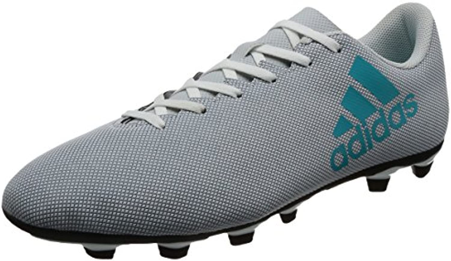 Adidas X 74 FxG, Zapatillas de Fútbol para Hombre, Multicolor (FTWR White/Energy Blue/Clear Grey), 44 EU