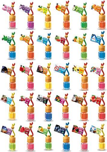 7 L&D Little Bottle Duftflakons fürs Auto und Wohnung MIX DIR WAS nach freier Duftwahl aus 25 Duftsorten. -