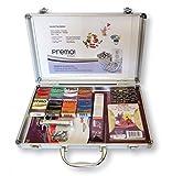 FERRARIO Kit Creativo Premo, panetti in Pasta Sintetica Premo da 57 g - PANETTI Creta, Cassetta in Metallo, 57 GR