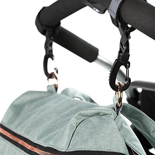 Lässig 1101005511 Wickeltasche Glam Rosie Bag, mint/grün - 3