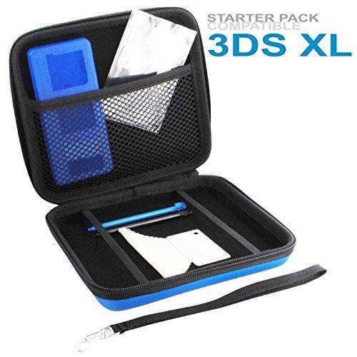AED DEA Starter Pack Blue, Zubehörset für Nintendo 3DS XL