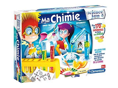 Clementoni – 52107-Ma Chimie  -Jeu scientifique