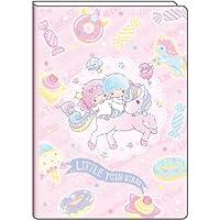 Delfino 2019 Sanrio Little Twin Stars - Agenda mensual (tamaño B6, SA-36201, 20 a 18 de septiembre)