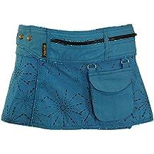 f81b80f46a1237 Guru-Shop Wickelrock, Cacheur, Sidebag, Damen, Baumwolle, Kurze Röcke  Alternative