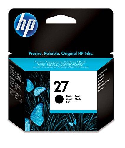 HP 27 Cartouche d'Encre Noir Authentique (C8727AE)
