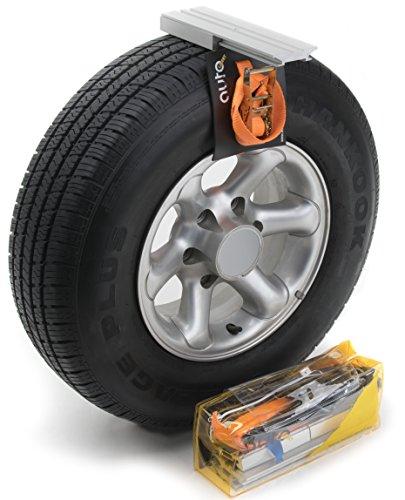 Chaînes antidérapantes pour pneus de SUV, véhicules utilitaires légers, véhicules 4x4. Remplacent les chaînes neige sur le terrain, pour les terrains boueux et sablonneux