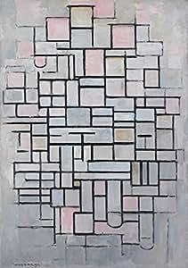 Puzzle 1000 pièces - Piet Mondrian : Composition No.IV, 1914