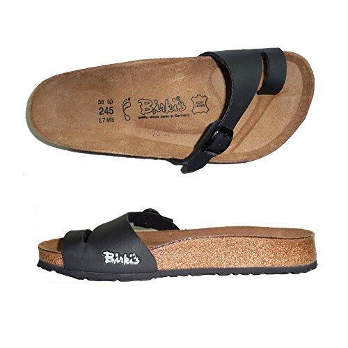 BIRKIS BIRKENSTOCK HOLLY INFRADITO DONNA ciabatte sandali NORMAL (36, NERO)